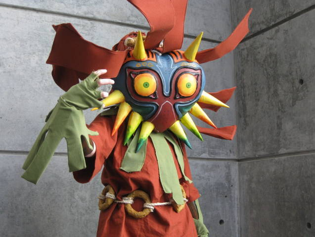 Skull Kid Nekocon 2011 by watching-stars-fall