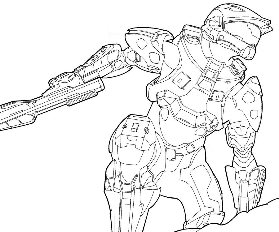 Master Chief by oreckk