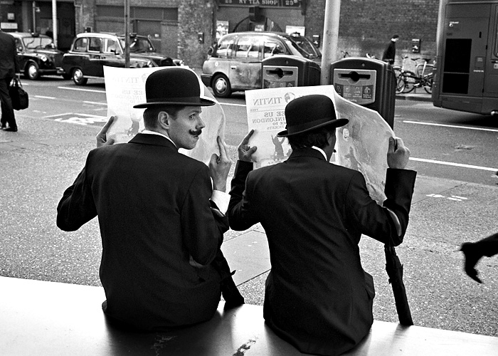 London Gents by Treamus