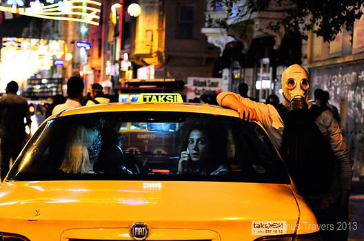 Taksim, Taxi's and Teargas