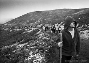 Croagh Patrick Pilgrim