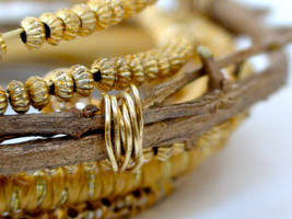 Gold Bangles 3 by snmsoomro