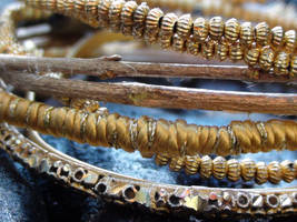 Gold Bangles 2 by snmsoomro