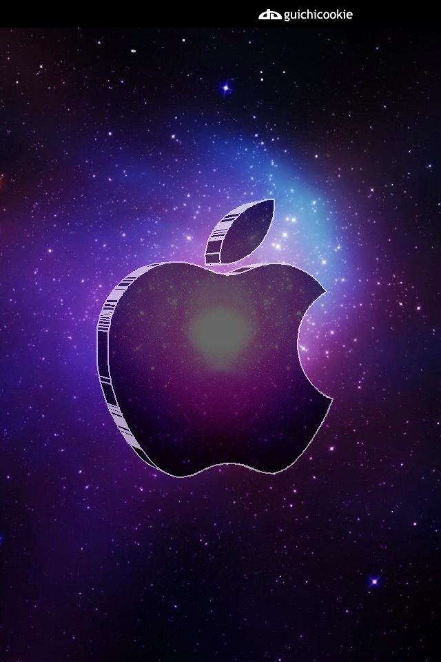 Apple iphone background glass apple in space by guichicookie on apple iphone background glass apple in space by guichicookie thecheapjerseys Image collections