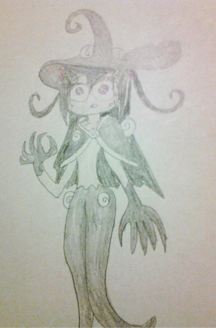 Kazumi as Witch Seedrian by DisturbedToxicReapa
