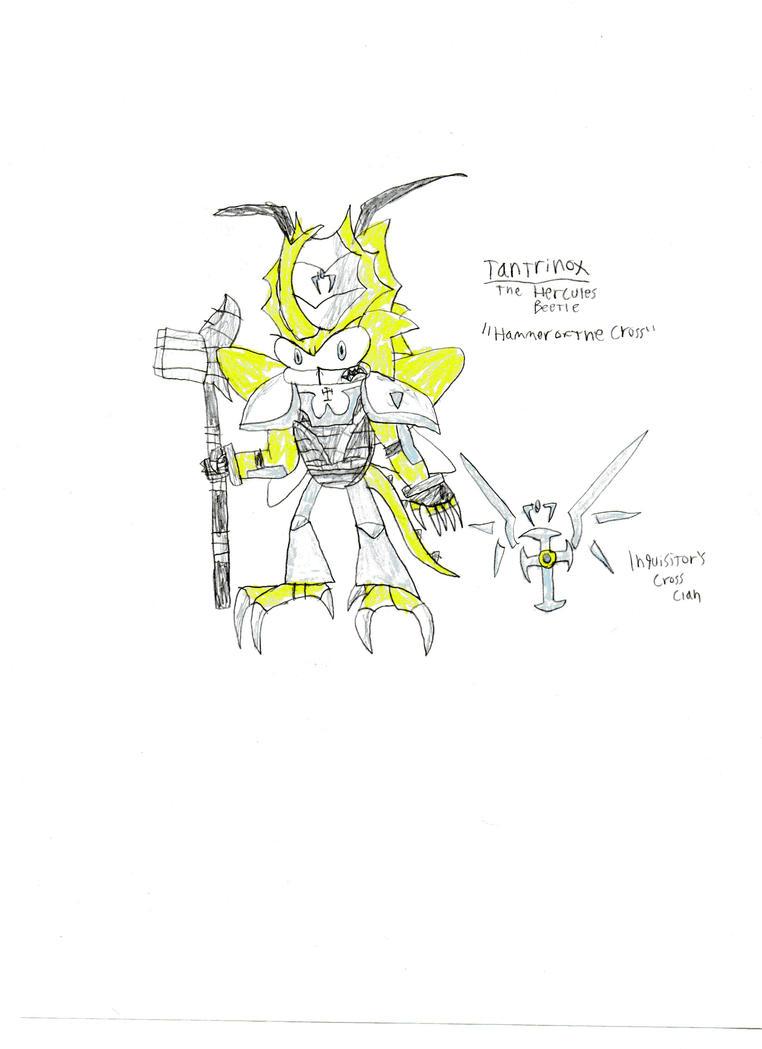 Tantrinox the Hercules Beetle by DisturbedToxicReapa