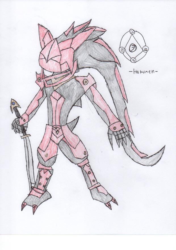 Hakumen from Rebellion of Silver by DisturbedToxicReapa