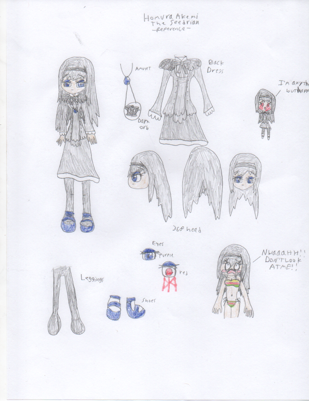 Homura Akemi the Seedrian Reference by DisturbedToxicReapa