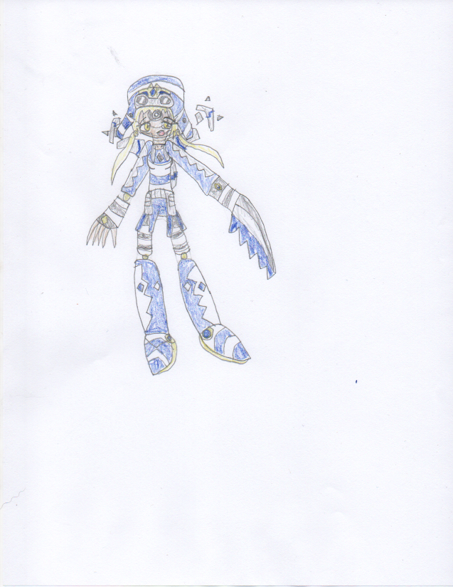Niko Kanna's creature form by DisturbedToxicReapa