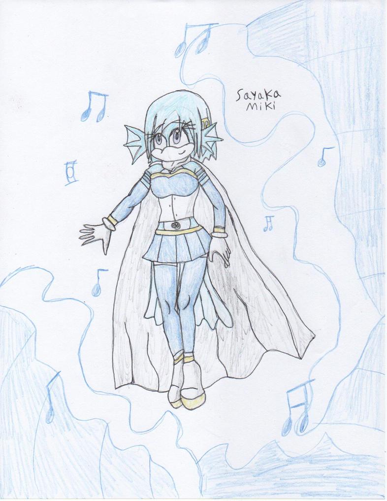 Sayaka Miki Sonic styled by DisturbedToxicReapa