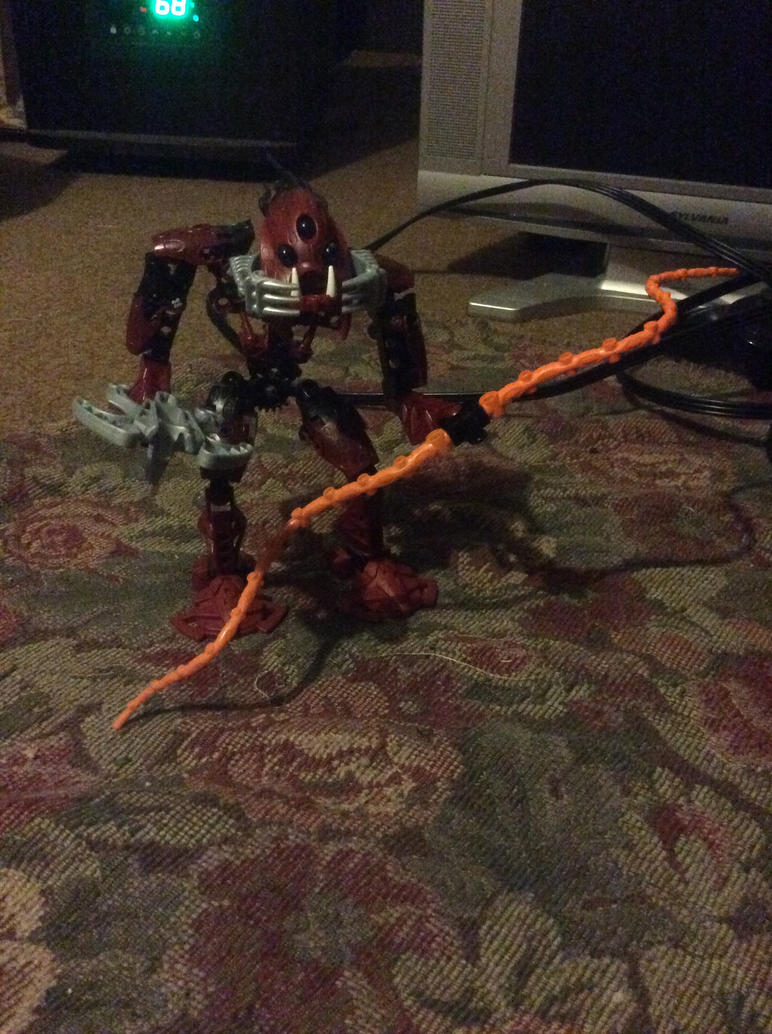 Bionicle G1 - Barraki Kalmah by DisturbedToxicReapa
