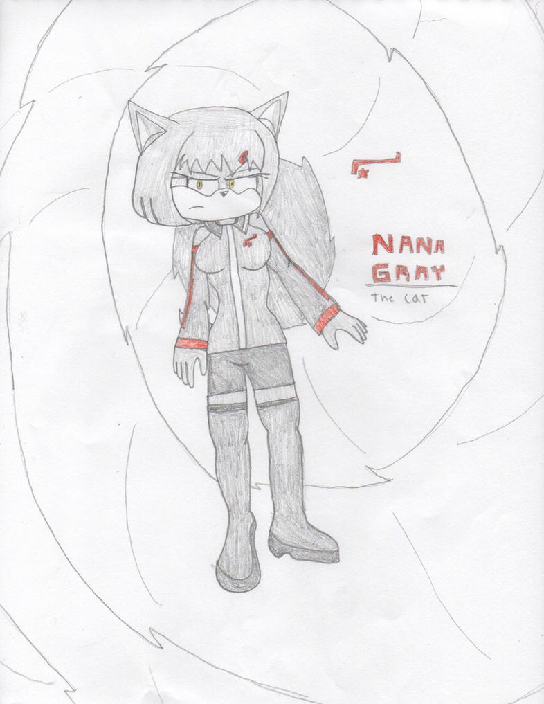 Gift - Nana Gray the Cat by DisturbedToxicReapa
