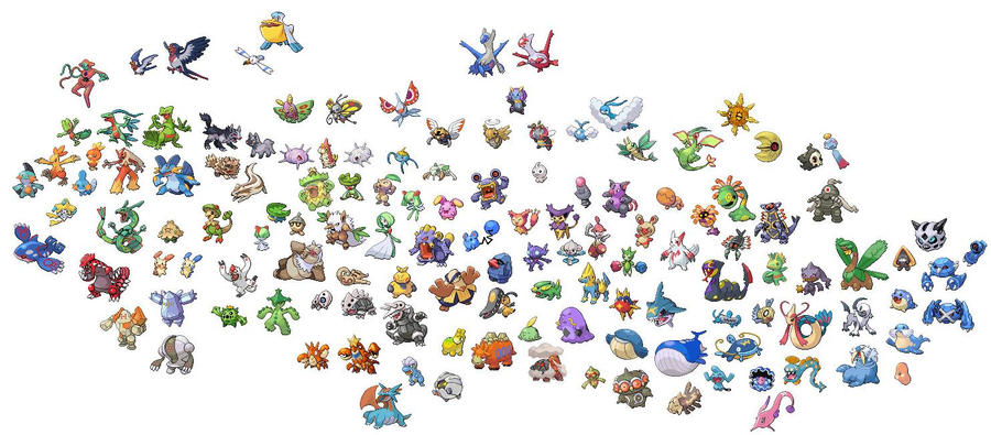 All gen3 pokemon by mwctcc on deviantart all gen3 pokemon by mwctcc sciox Image collections