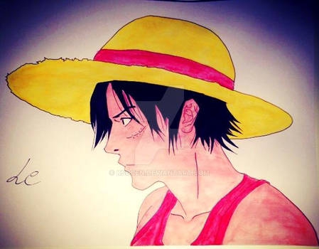 Luffy waterpencil
