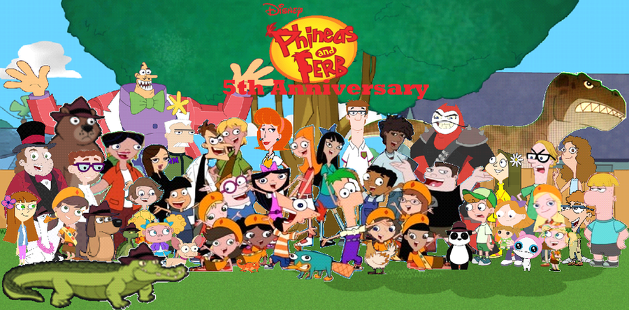 The gallery for --> Phineas And Ferb Django