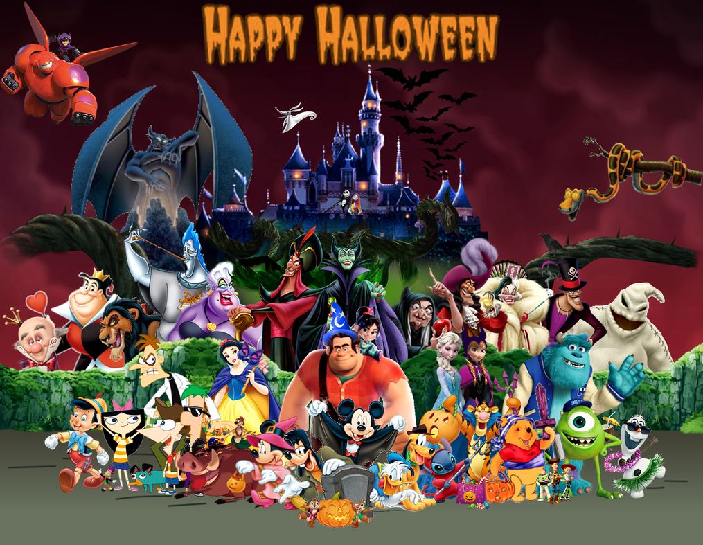 Dream of Halloween by DisneyDude-94