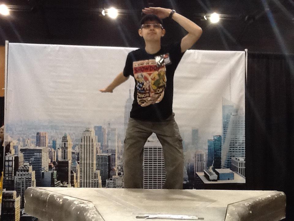 Sightseeing at Phoenix ComicCon 2015 by DisneyDude-94