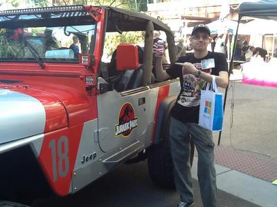 Jurassic Park Jeep by DisneyDude-94