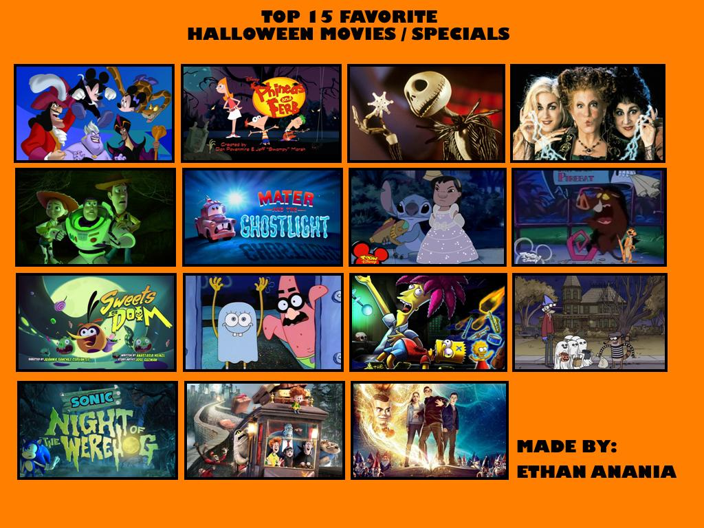 My Top Fifthteen Halloween Specials by DisneyDude-94