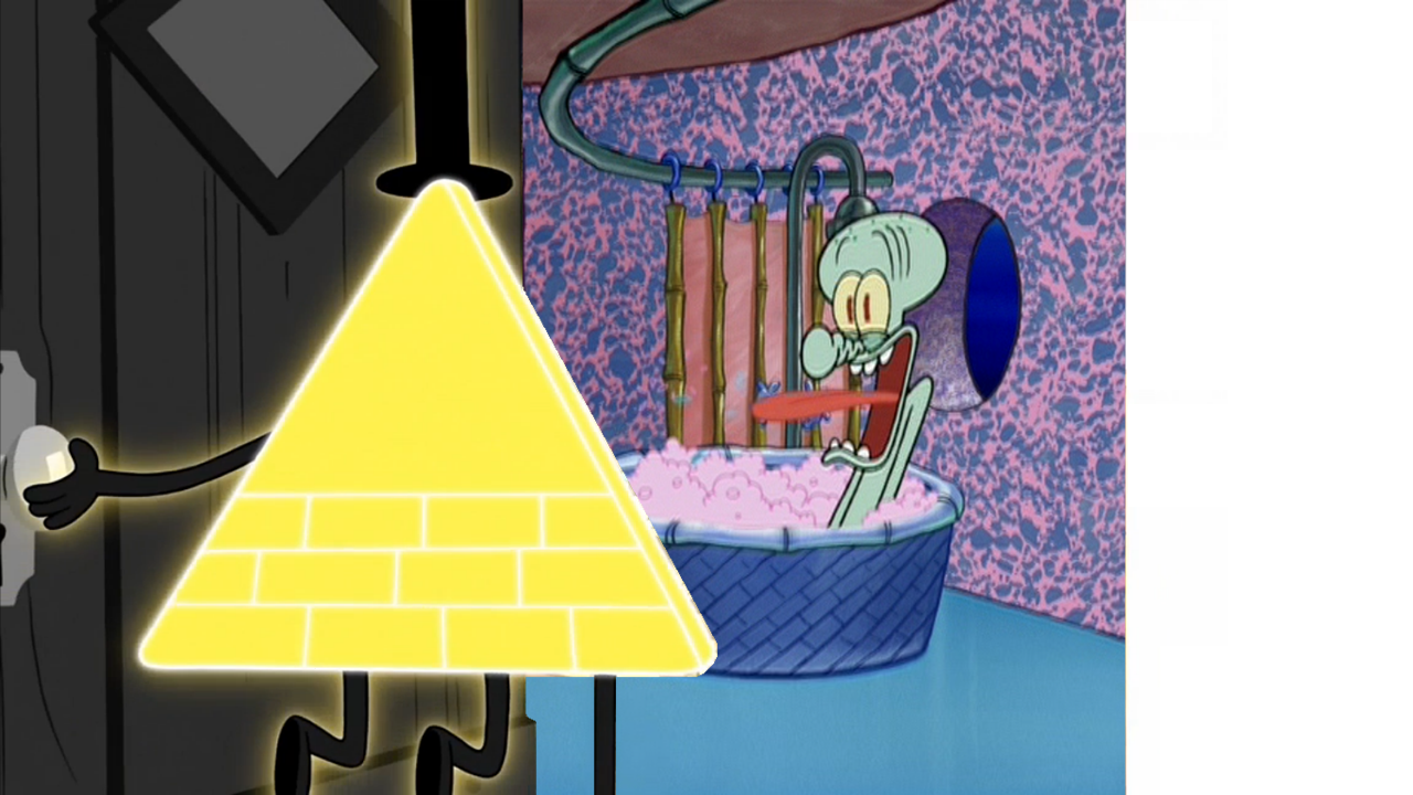 Bill Drop By Squidwards House By Disneydude 94 On Deviantart