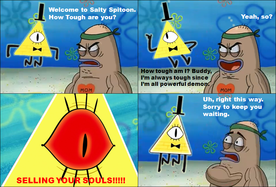 bill_cipher_visit_salty_spitoon_by_disneydude_94 da4n3ne bill cipher visit salty spitoon by disneydude 94 on deviantart