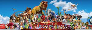 CGI Animation Characters