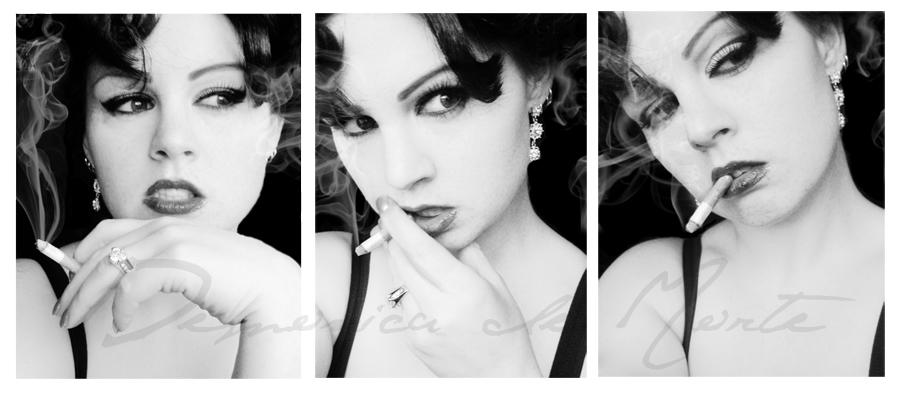 Smoking Lust... by demonicademorte