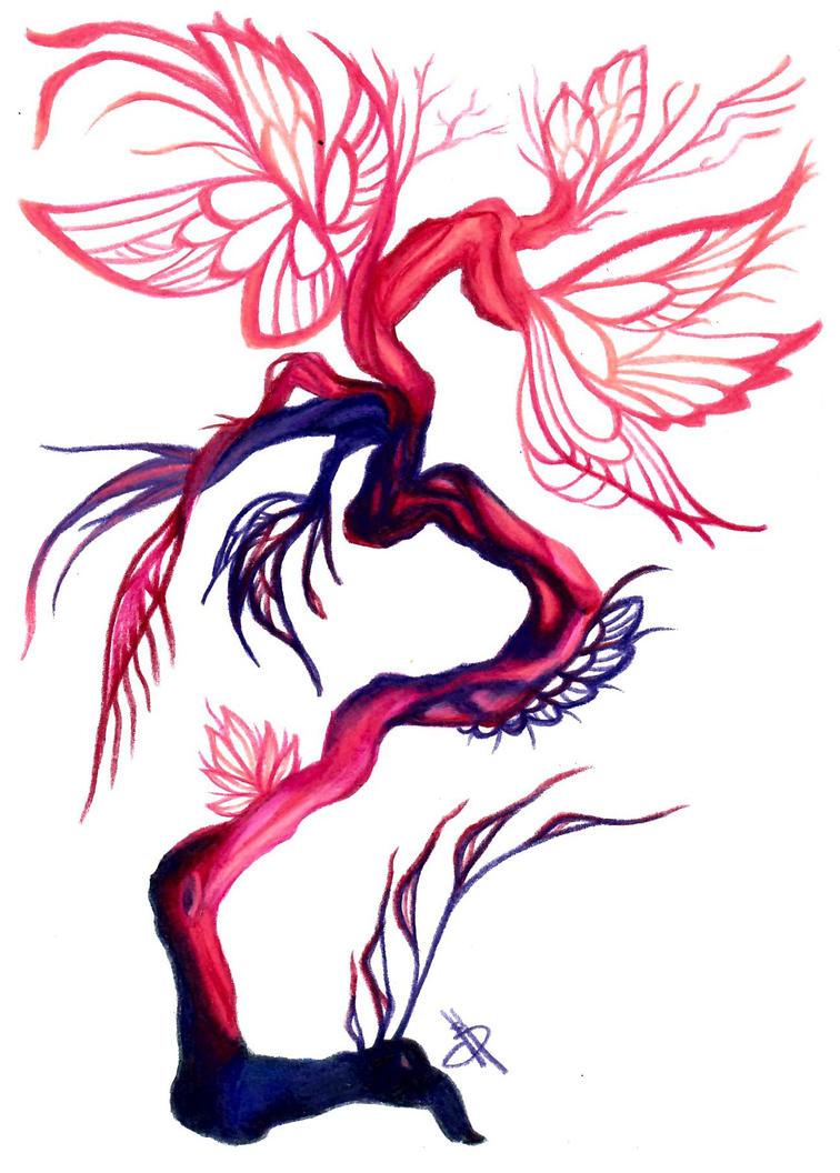 Butterfly Tree by Nevarra13