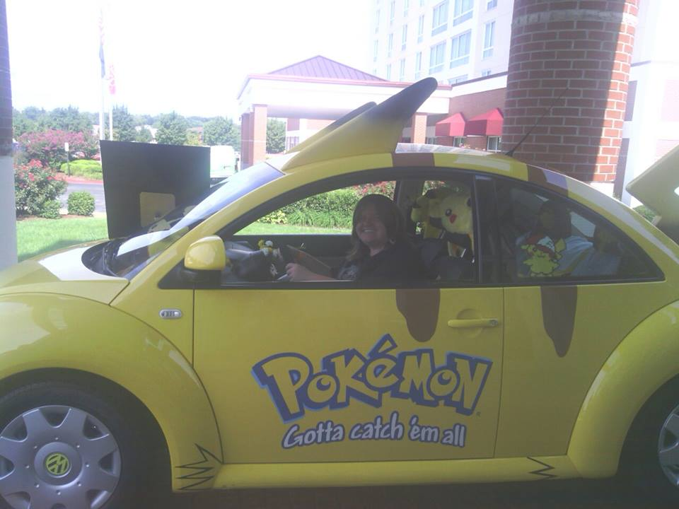 Pikachu Car 2 by coreena12