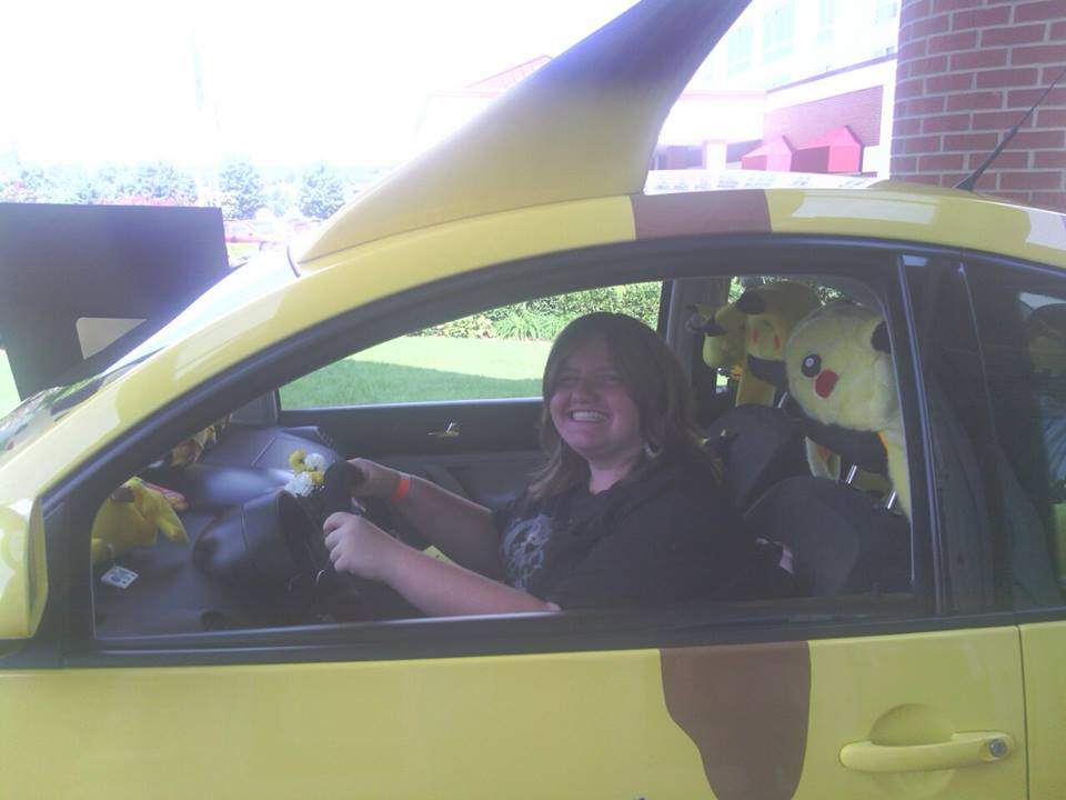 Pikachu Car by coreena12