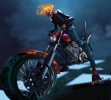 Ghost-rider2 by Johnadv