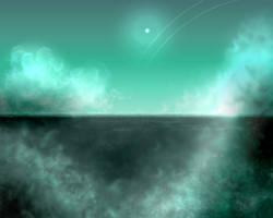 Uranus Cloudscape by fokkusu1991