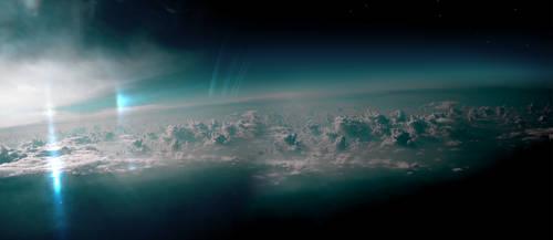 Uranus Dawn by fokkusu1991