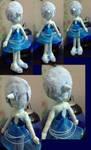 Blue Pearl Plush Doll