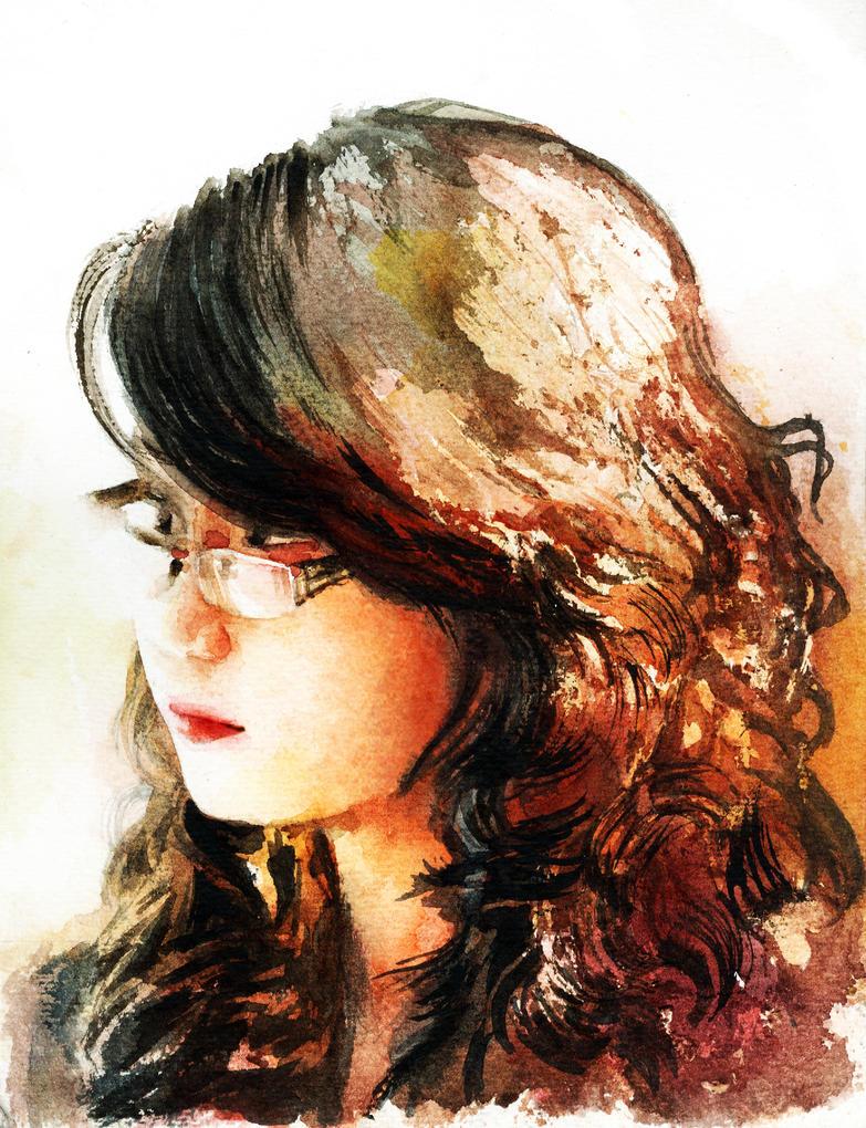 Portrait #3 by flutear