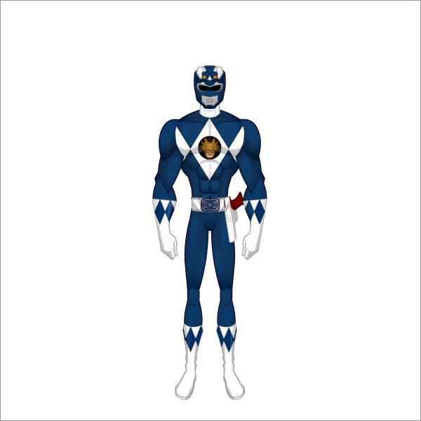 Power Ranger Ranger Azul By Battias On Deviantart