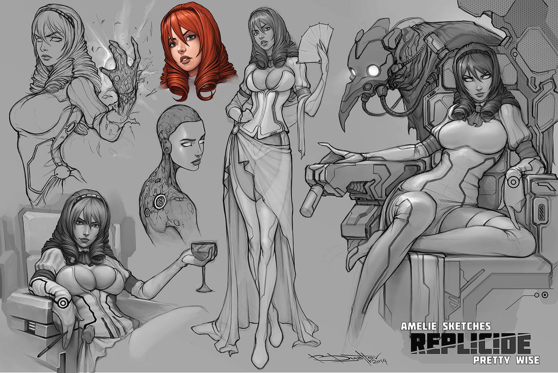 Amelie REPLICIDE by Boris-Dyatlov