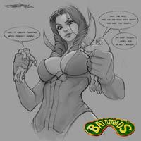 Buttletoads fan art/sketch