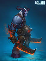 Goliath demon faction by Boris-Dyatlov