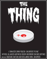 The Thing Minimal Movie Poster