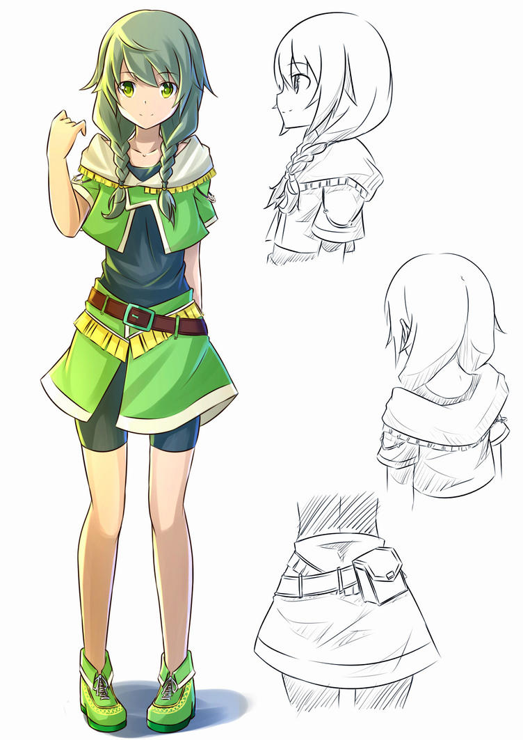Anime Character Design Competition : Suisei no gargantia oc design contest by mzrz on deviantart