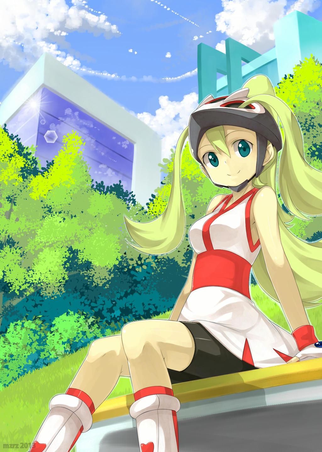 Korrina Pokemon Xy By Mzrz On Deviantart