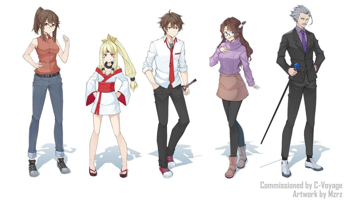 COM - Naikyu Academy Part2 by mzrz