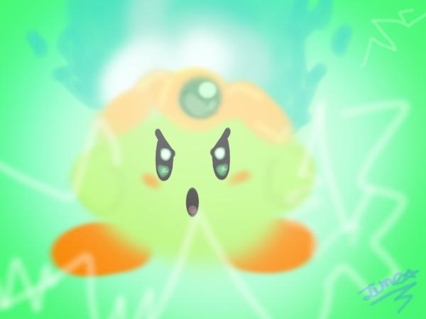 Plasma Kirby by luzthekiller34