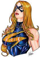 Miss Marvel Pinup Bust