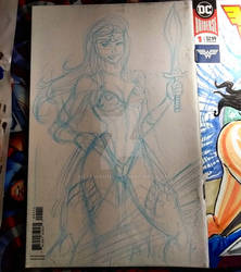 Wonder Woman - Backside Cover Commission