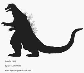 Godzilla 2004 stk(for upcoming pack by Dinomorph5000