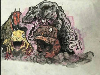 Shin Godzilla by Dinomorph5000
