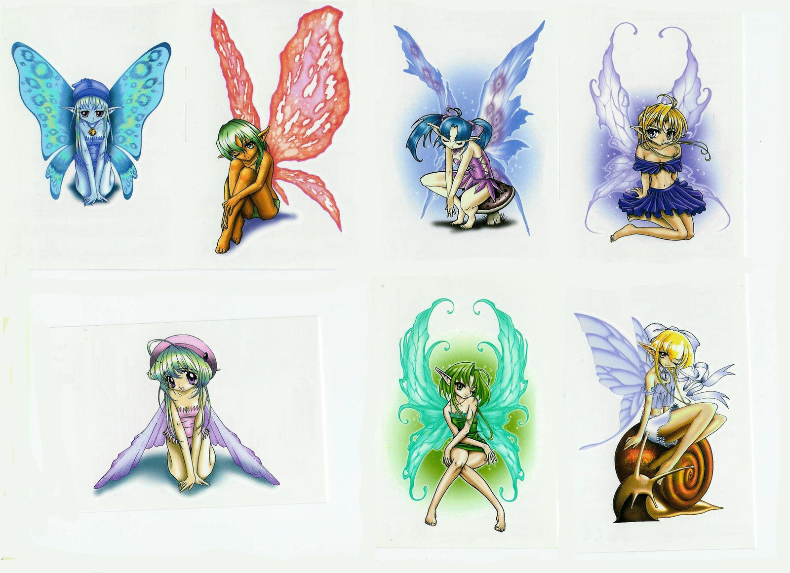 Anime Fairy Wallpaper 2 by Vernamon