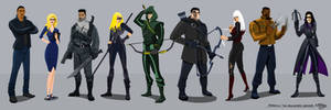 Arrow: The Animated Series by Gagoism